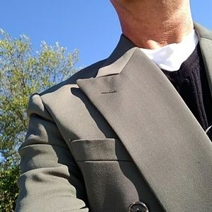 Men's Burburry Double Breasted Blazer